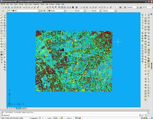 Georeferenziare un dwg con autocad map