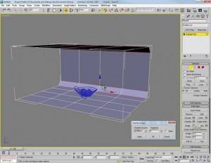 Render di una piccola scena con vray e 3d studio max 06