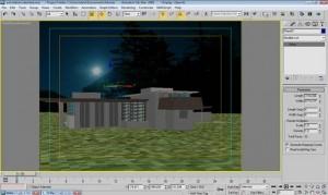 Tutorial render notturno vray e 3d studio max 12