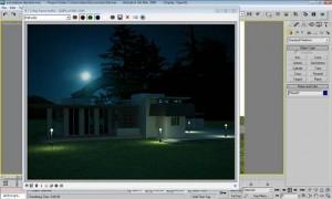 Tutorial render notturno vray e 3d studio max 22