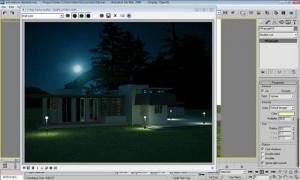 Tutorial render notturno vray e 3d studio max 24