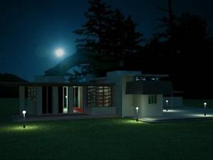Tutorial render notturno vray e 3d studio max 26