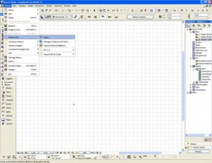 Importare un dwg autocad in archicad 02