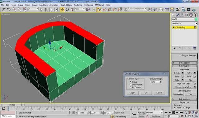 Modellare una poltrona con 3d studio max
