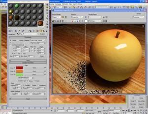 Materiale mela verde con vray e 3d studio max 16