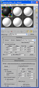 Caricare un file .mat di vray in 3d studio max 2011 03