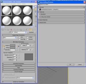 Caricare un file .mat di vray in 3d studio max 2011 05