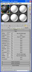 Caricare un file .mat di vray in 3d studio max 2011 08