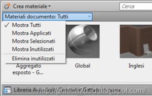 Tutorial autocad 2012 : materiali , luci , render p.1.6