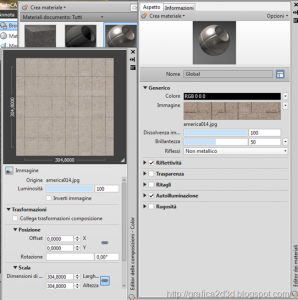 Tutorial autocad 2012 : materiali , luci , render p.1.13