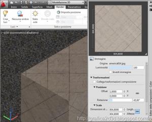 Tutorial autocad 2012 : materiali , luci , render p.1.15