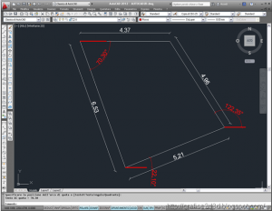 autocad 2012 : linee inclinate
