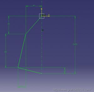 catia v5 : piastrina meccanica 3