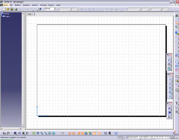 Catia messa in tavola di un disegno 1grafica2d3d corsi - Tavola grafica per pc ...