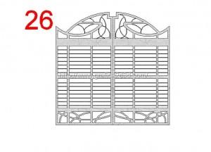 Disegni cancelli in dwg : catalogo 2.15