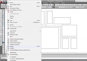 Salvare un file autocad in jpeg