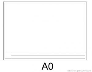 Formato dei fogli nel disegno tecnico con autocad 6