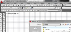 Autocad non apre più i file con il tasto apri