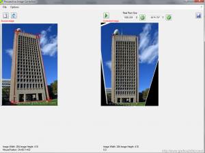 Raddrizzare la prospettiva delle foto con Perspective Image Correction 3