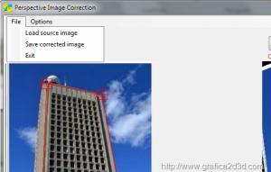 Raddrizzare la prospettiva delle foto con Perspective Image Correction 4