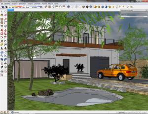 Settaggio render esterno : vray e sketchup 08