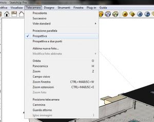 Vray per sketchup : impostazioni base per un esterno 02