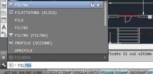 Autocad selezionare con lo strumento filtro 2