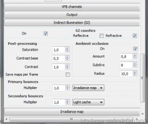 Interno render test sketchup 2013 + vray 2.3
