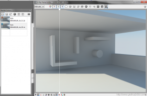 Interno render test sketchup 2013 + vray 2.7