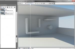 Interno render test sketchup 2013 + vray 2.7