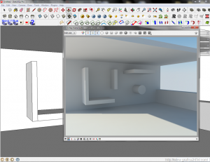 Interno render test sketchup 2013 + vray 2.1