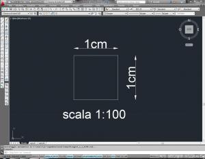 fattori di scala in architettura con autocad 1