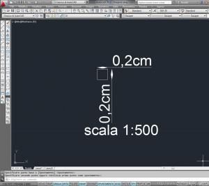 fattori di scala in architettura con autocad 3