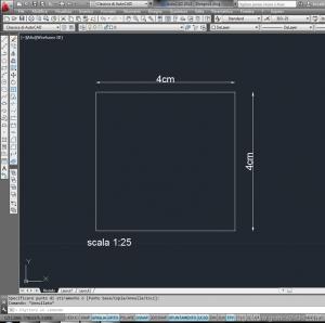 fattori di scala in architettura con autocad 7