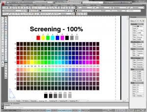 Stampa tabella colori autocad