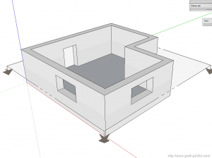 pianta architettonica con autocad 01