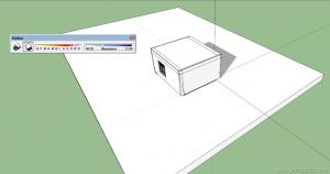 V-ray sketchup  tutorial interior 06
