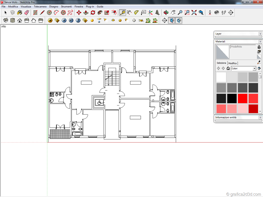 how to change the scale in sketchup