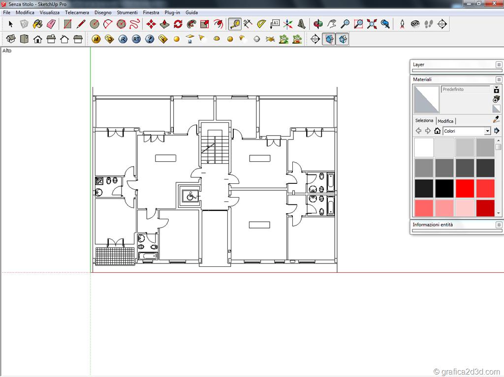 Come disegnare una planimetria - Planimetria della casa ...