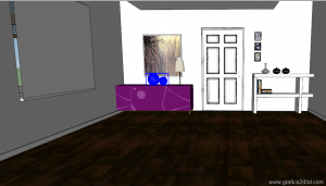 V-ray sketchup  tutorial interior 03