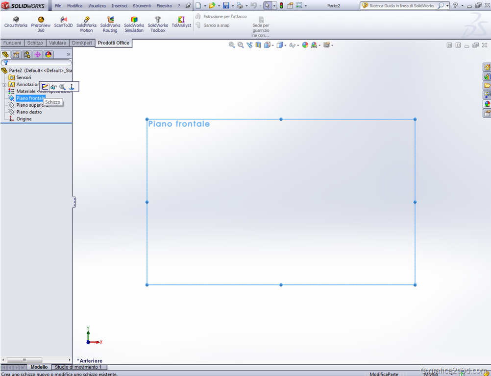 Blueprints in solidworks