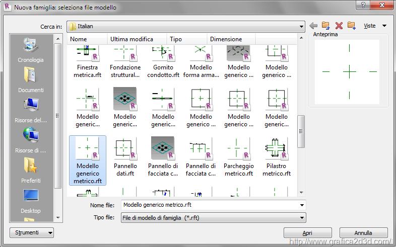 Revit grafica2d3d corsi di grafica per l 39 architettura for Creare piani di costruzione