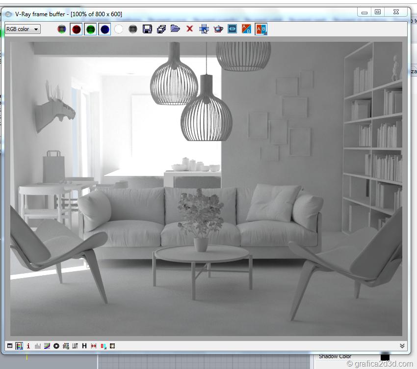 Vray per rhino tutorial illuminazione interni for Programmi per rendering
