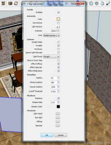 Making of vray sketchup tutorial interior 023