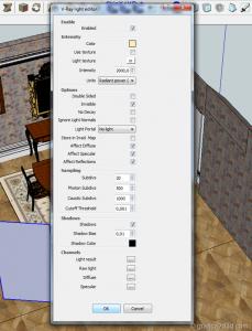 Making of vray sketchup tutorial interior 023