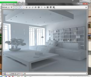 V-ray sketchup tutorial interior white room