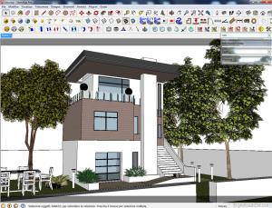 Vray sketchup tutorial esterno con hdri