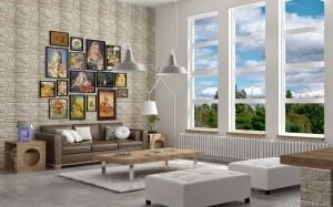 Tutorial vray sketchup interior salone D12