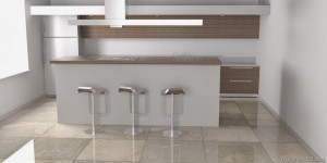 making of tutorial kitchen vray sketchup