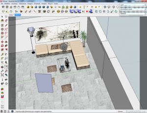 Making of tutorial vray sketchup interior #15 b